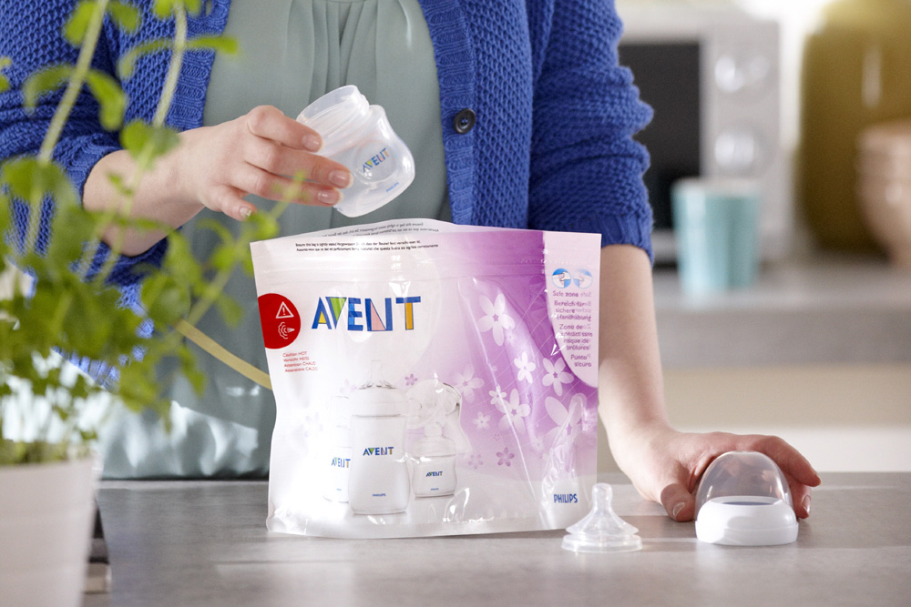 avent microwave steriliser instructions